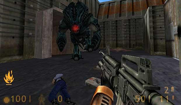Half-Life is no longer censored in Germany, so barnacles don't burp out screws