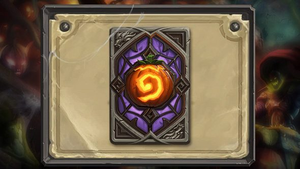 Hearthstone: all hallowed up.