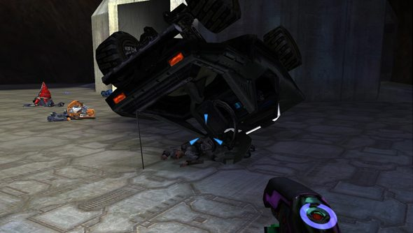 The metaphorical crash that awaited Halo at the Gamespy shutdown on May 31.