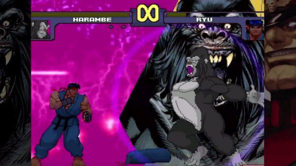 Harambe Vs. Capcom