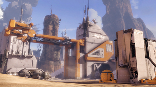 Hawken update adds new map: Facility