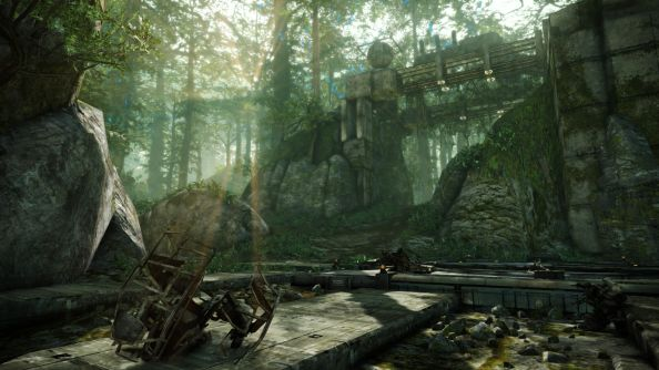 Hawken's new map screenshots reveal a woodland mecha