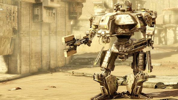 Hawken patch adds new mech and a level to flit about in