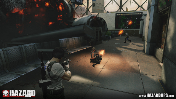 Massacre folk across six new maps and two new modes in Hazard Ops' beta update