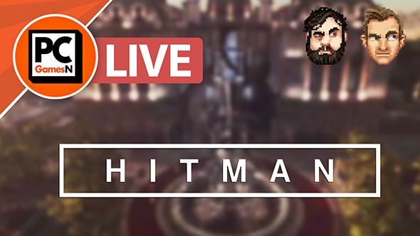 Hitman gameplay livestream