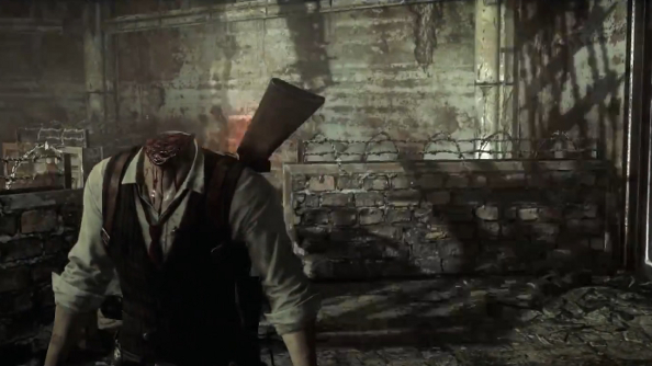 In The Evil Within, even gods can be decapitated