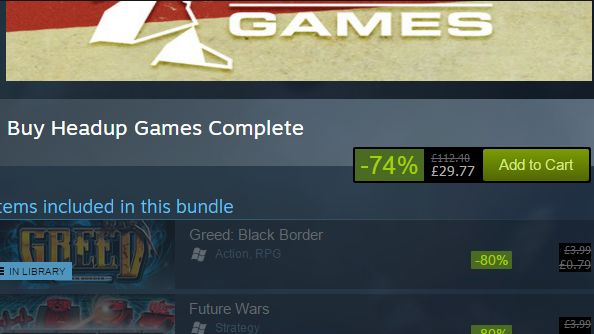 Steam dynamic bundles headup games