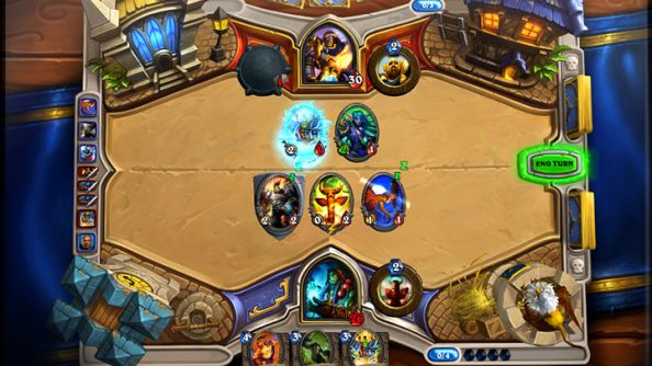 "Hearthstone won't ""necessarily"" have cross-platform play for launch"