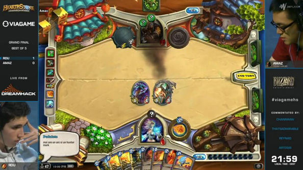 "Most lucrative Hearthstone win marred by controversy; ""Rdu is not cheating,"" says Amaz"