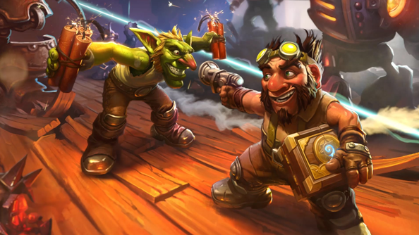 Hearthstone: Goblins vs Gnomes activated in Europe. Three free packs for all