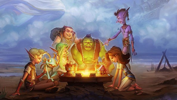 "Hearthstone on iPad exits ""soft launch"", goes hard for worldwide release"