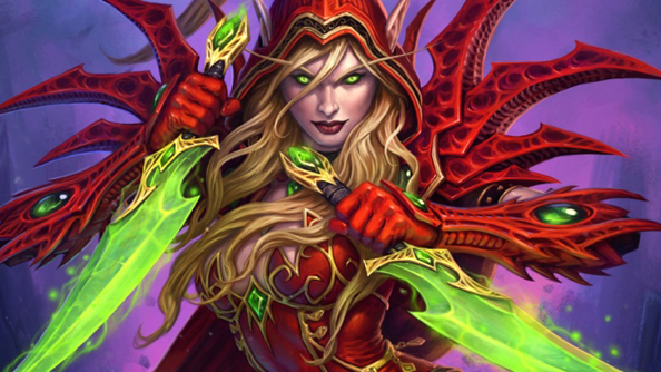 Valeera: one of many women in Hearthstone.