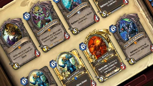 """Future Hearthstone expansion includes around 100 cards; """"It'll be booster pack format"""""""
