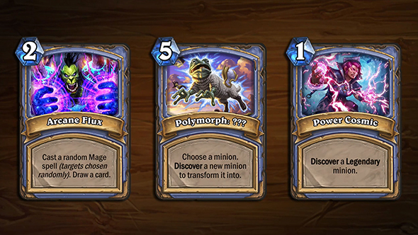 hearthstone�s arena will get these nine new cards soon
