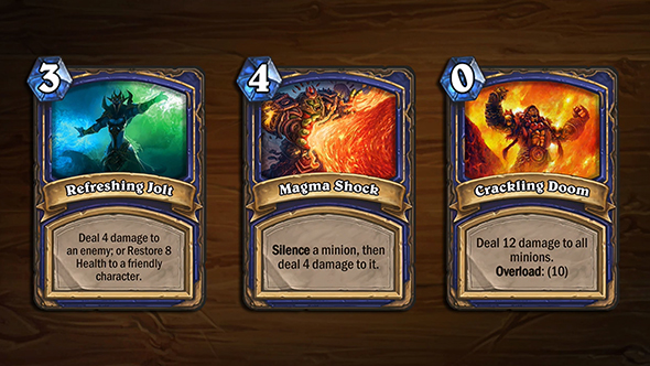 hearthstone arena blizzcon cards shaman