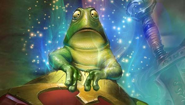 Why let players ribbit when they can speak with their cards?