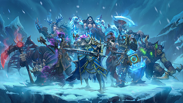 hearthstone death knight hero cards arena