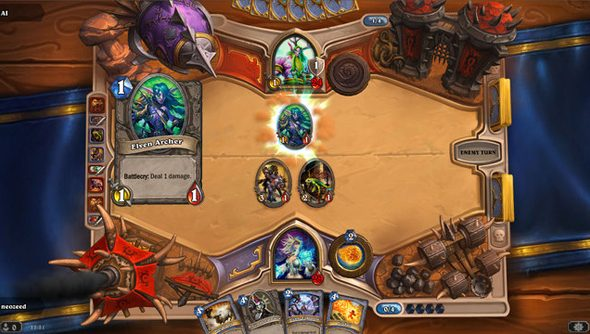 World of Warcraft Trading Card Game retired as Hearthstone