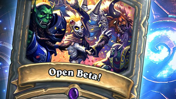 Hearthstone has been in closed beta for many months.