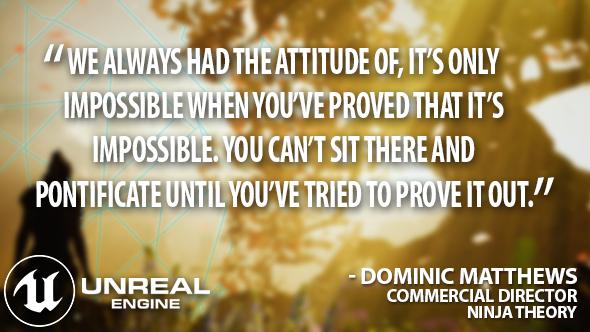 Hellblade Unreal quote