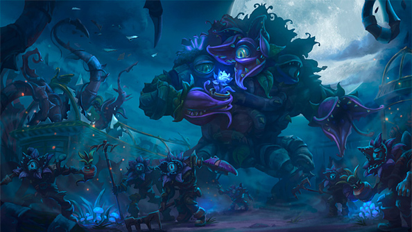 "Heroes of the Storm's new Garden of Terror map has a day/night cycle and ""plant zombies"""