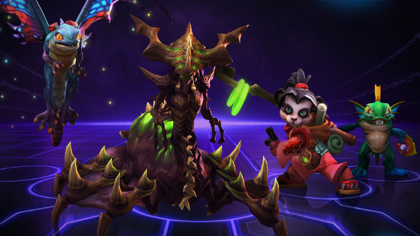 Blizzard reveals four new, mostly nuts, Heroes of the Storm characters at PAX East