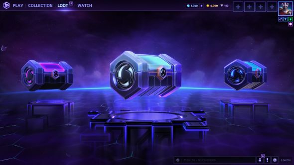 Heroes 2.0 loot boxes