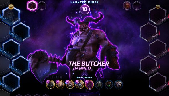 Heroes of the Storm bans