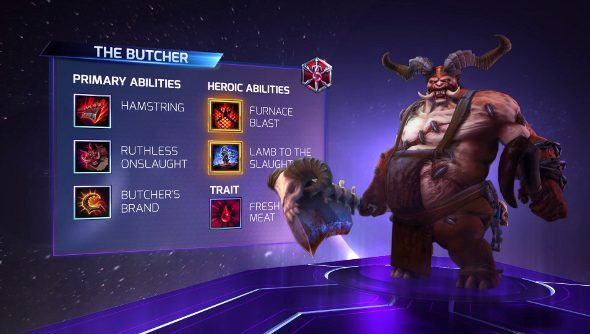 Heroes of the Storm Butcher