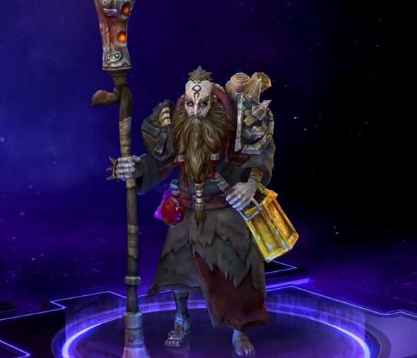 heroes of the storm deckard cain abilities talents wastewalker deckard
