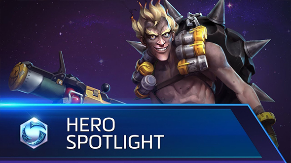 heroes of the storm junkrat hero spotlight