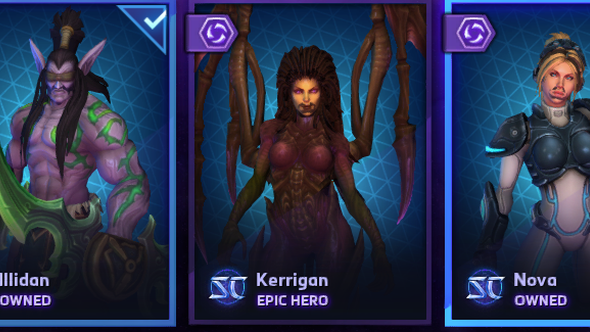 Heroes of the Storm moustache bug