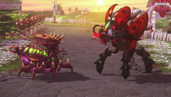 heroes of the storm skins skin valentines day love bug Blizzard