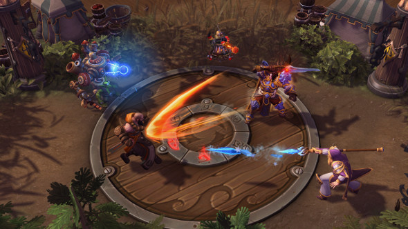 Heroes of the Storm tank armour