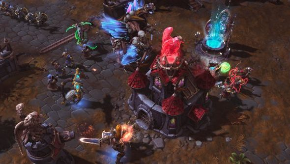 Heroes of the Storm is a team-based affair in the mode of League of Legends.