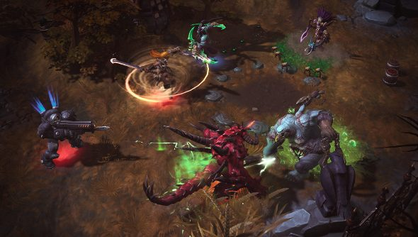 Heroes of the Storm artifacts dropped
