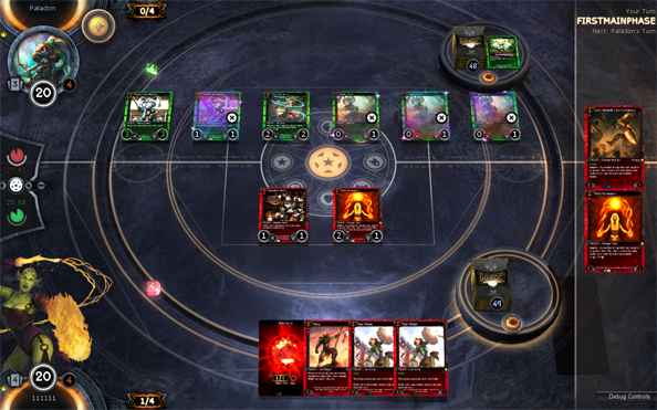 hex online card game