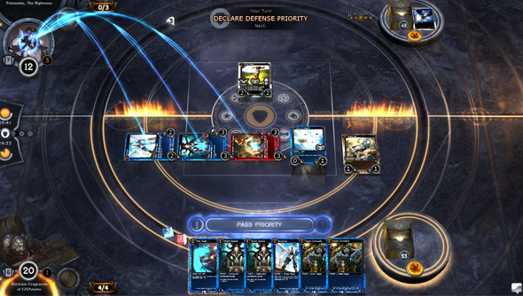 Hex: Shards of Fate is a really excellent CCG. That, at least, is not under dispute.