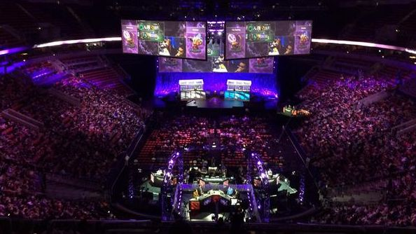 Dota 2 International main event: Day One