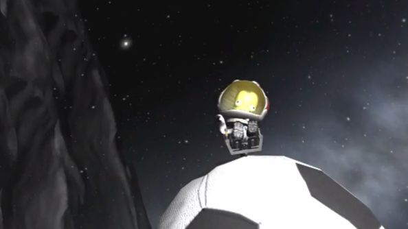 Kerbal Space Program's first official mod celebrates the football world cup