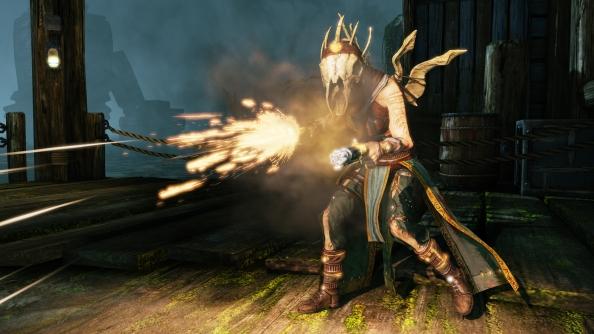Nosgoth update unveils the Prophet: a dual wielding pistol crusader
