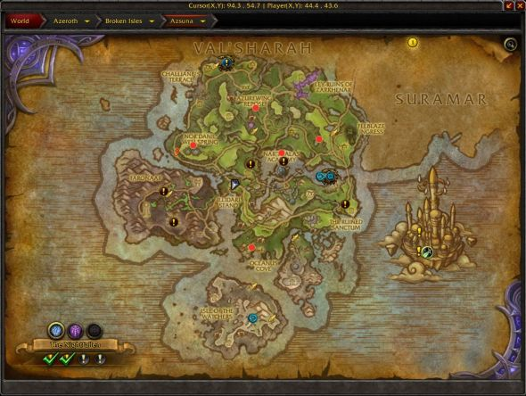 Reins of the Long-Forgotten Hippogryph map