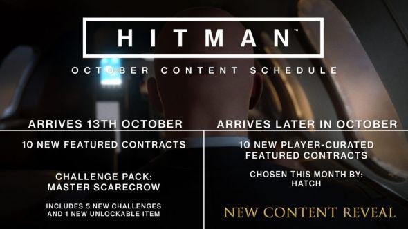 October Content Schedule