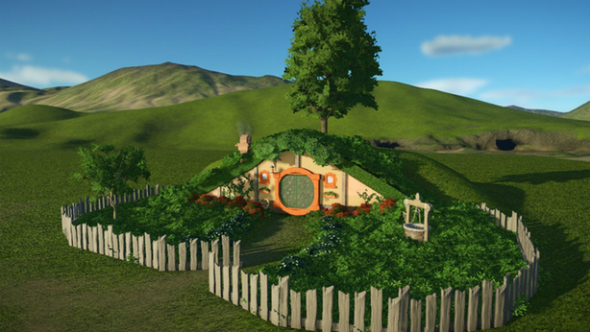 hobbit hole planet coaster creations