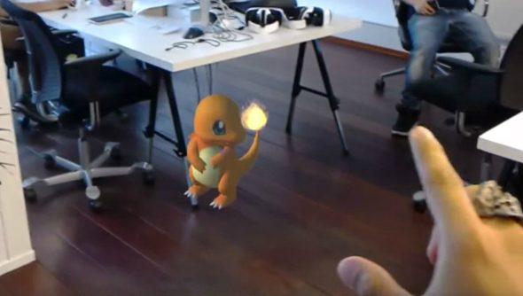 hololens pokemon go