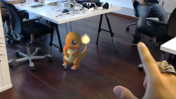 Pokémon GO unofficially arrives on PC via Microsoft HoloLens demo