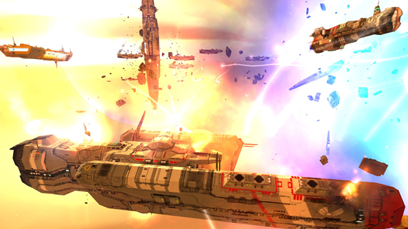 "Gearbox on Homeworld acquisition: ""it needs a fresh coat of paint"""