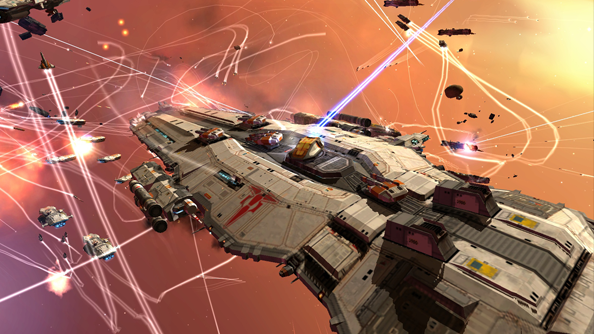 Homeworld high-definition remakes in the works at Gearbox