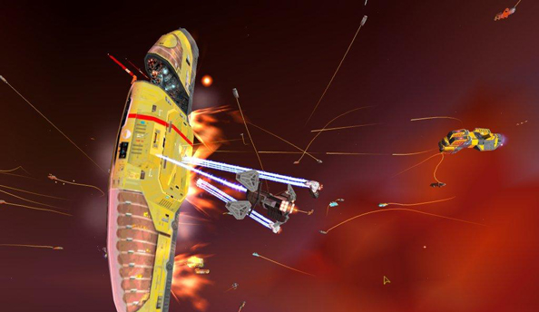 Indie studio asks Homeworld fans to pitch in and buy series from THQ