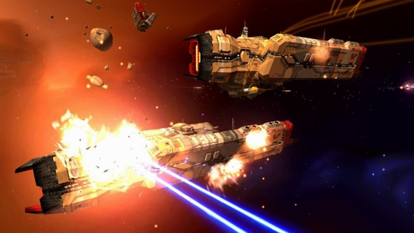 Homeworld Remastered trailer PC Gearbox Software